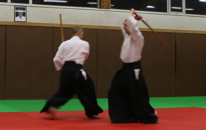 Aikido-Vaugneray-Cours-Armes